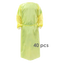 AAMI Level 4 PP+PE Isolation Gowns (with Tape)