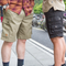 (男)瑞典|【Fjallraven】Sambava Shade Shorts G1000 Air 輕量短褲-暗灰 82960-030